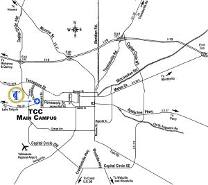 Map to TCC
